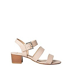 Dorothy Perkins - Nude savana strappy sandals
