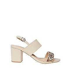 Dorothy Perkins - Cream skittle beaded sandals