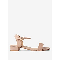 Dorothy Perkins - Nude spirit block heel sandals