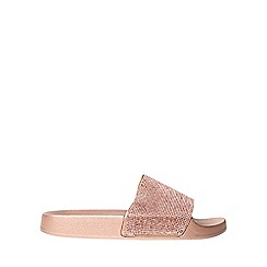 Dorothy Perkins - Rose frenchy diamante slider sandals