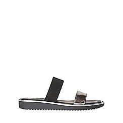 Dorothy Perkins - Black comfort 'funky' sandals