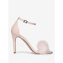 Dorothy Perkins - Pink strut feather sandals