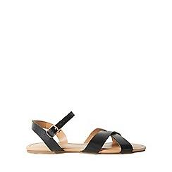 Dorothy Perkins - Black 'falcon' sandals