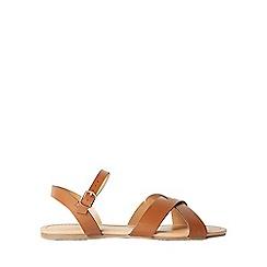 Dorothy Perkins - Tan 'falcon' sandals
