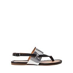 Dorothy Perkins - Black future sandals