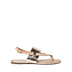 Dorothy Perkins - Nude future sandals
