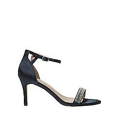 Dorothy Perkins - Navy spot light heeled sandals