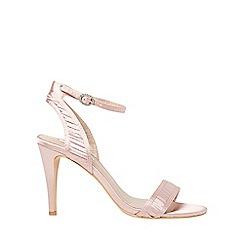 Dorothy Perkins - Showcase blush sage sandals