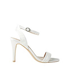 Dorothy Perkins - Showcase ivory sage sandals