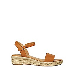 Dorothy Perkins - Tan riana wedge sandals