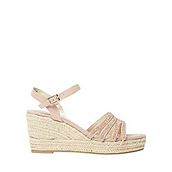 Dorothy Perkins - Rose riley pink wedge sandals