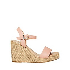 Dorothy Perkins - Pink rizzo espadrille wedge sandals