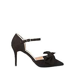 Dorothy Perkins - Black gardenia court shoes