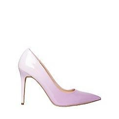 Dorothy Perkins - Lilac eboni court shoes