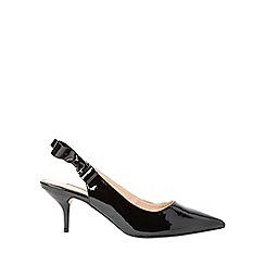 Dorothy Perkins - Black edina court shoes