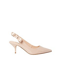 Dorothy Perkins - Nude edina court shoes