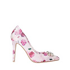 Dorothy Perkins - Multi floral print glamour court shoes