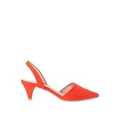 Dorothy Perkins - Orange esme court shoes