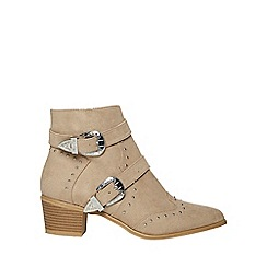 Dorothy Perkins - Mink alicia ankle boots