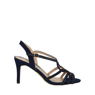 Dorothy Perkins - Navy bounty glitter heel sandals