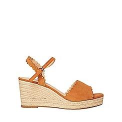 Dorothy Perkins - Tan rydel stud wedges sandals