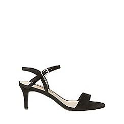 Dorothy Perkins - Black bubble heeled sandals