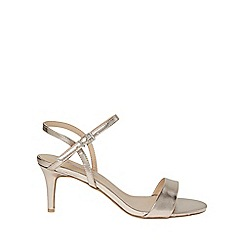 Dorothy Perkins - Gold bubble heeled sandals