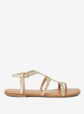 Dorothy Perkins - Gold frankee sandals