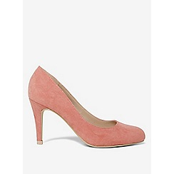 Dorothy Perkins - Rose microfibre dallas court shoes