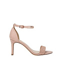 Dorothy Perkins - Nude bling heeled sandals
