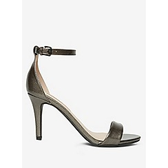 Dorothy Perkins - Pewter stella heeled sandals