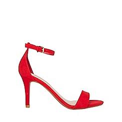 Dorothy Perkins - Red stella heeled sandals