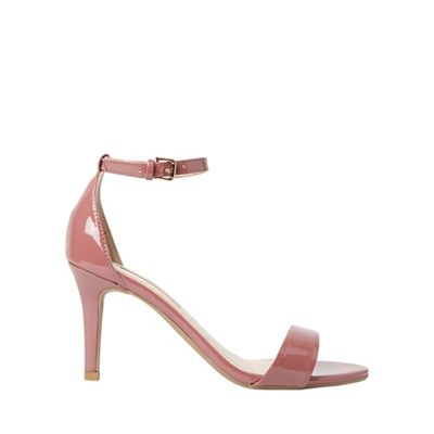 Dorothy Perkins - Rose pu stella mid heel sandals