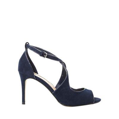 Dorothy Perkins - Navy brea heeled sandal