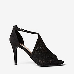 Dorothy Perkins - Black lace briana sandals