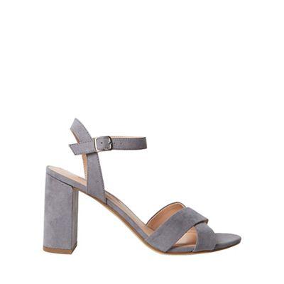 Dorothy Perkins - Grey serena block heel sandals