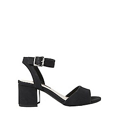 Dorothy Perkins - Black sabrina block heel sandals