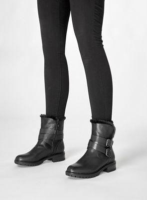 130f88c3edd8 Dorothy Perkins Black arctic biker boots