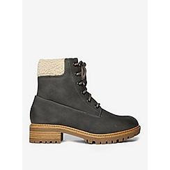 Dorothy Perkins - Grey Malmo hiker boots