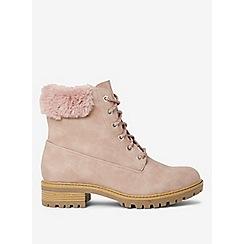 Dorothy Perkins - Blush malmo hiker boots