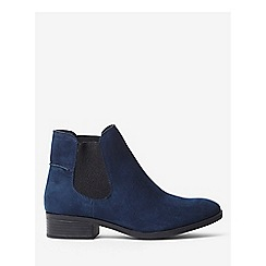 Dorothy Perkins - Navy monty boots