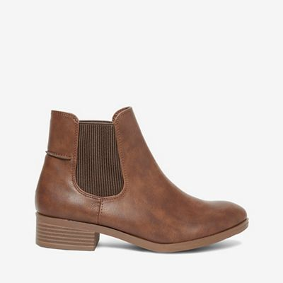 Dorothy Perkins   Tan 'monty' Chelsea Boots by Dorothy Perkins