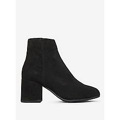 Dorothy Perkins - Black aubree block heel boots