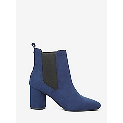 Dorothy Perkins - Navy apricot boots
