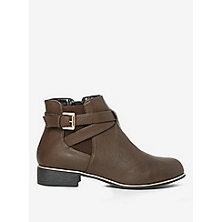 Dorothy Perkins - Chocolate mission jodpur boots