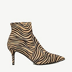 Dorothy Perkins - Multi colour zebra print motion boots