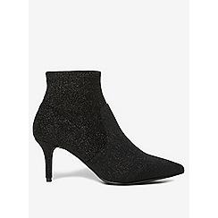 Dorothy Perkins - Glitter motion sock boots