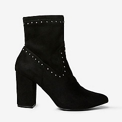 Dorothy Perkins - Black asher stud sock ankle boots