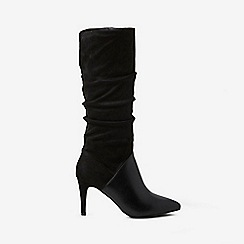 Dorothy Perkins - Black kleo microfibre over the knee boots