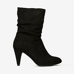 Dorothy Perkins - Black kylie ruched boots